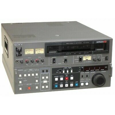Sony Betacam PVW-2800P Video Cassette Record
