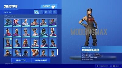 Be Friends With a Renegade Raider / OG Ghoul Trooper! Show Off To Your Friends!