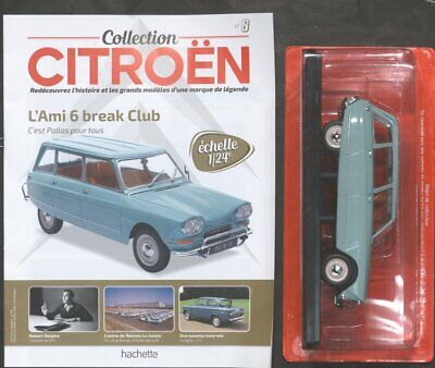 Citroen 1/24   N°8 L'ami 6 Break Club