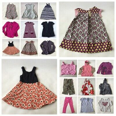 18 X Mega Girls Bundle Clothes Next Gap H&M Tu Dress T-Shirt Tops Shorts 6-7yrs