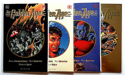 Golden Age #1-4 Full Set (1993 DC)