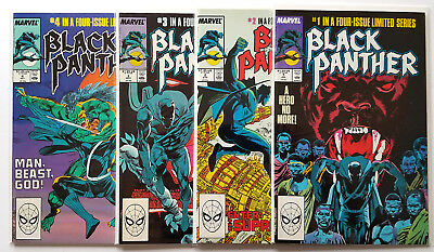 Black Panther #1-4 Full Set (1988 Marvel) VF/NM