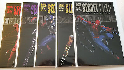 Secret War #1-5 Full Set (2004 Marvel)
