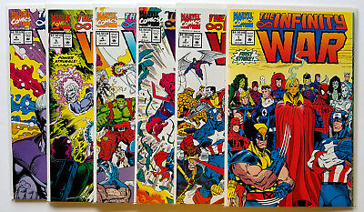 Infinity War #1-6 Full Set (1992 Marvel)