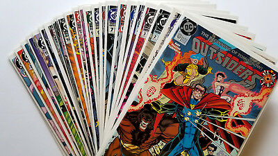Outsiders #0, 1-24 Full Set (1993 DC)