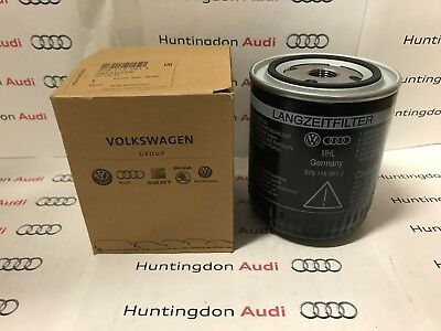 Genuine Audi Oil Filter - A4,A6,A8, Audi Coupe - 078115561J