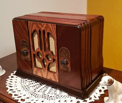 Vintage Air-Castle AM Tube Radio TC-31 (1936) *VERY RARE & COMPLETELY RESTORED*