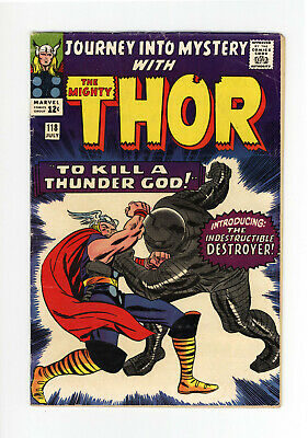 JOURNEY INTO MYSTERY #118 - The DESTROYER! - JACK KIRBY Cover & ART - THOR 1965