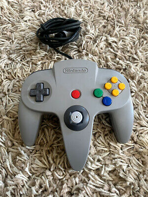 Nintendo 64 N64 Controller - Gray - | OFFICIAL | TESTED TIGHT STICK SHIPS FAST!