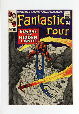 FANTASTIC FOUR #47 - The INHUMANS! - JACK KIRBY Cover & Art