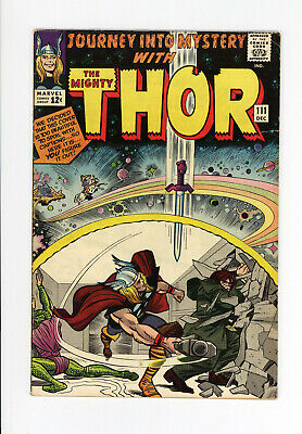 JOURNEY INTO MYSTERY #111 - LOKI PIN-UP! - JACK KIRBY Cover & ART - THOR 1964