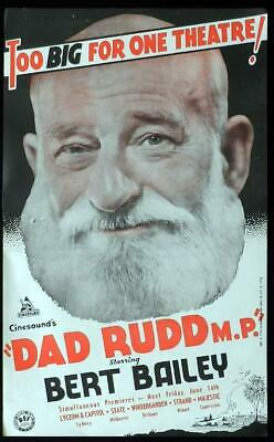 """16mm Feature Film """"Dad Rudd MP""""  83 minutes - black and white"""