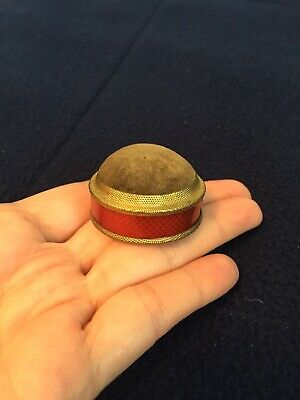Vintage Tape Measure / Pin Cushion From London