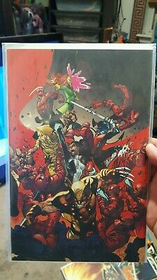 House of X #4 1:100 Marvel Larraz X-Men Virgin Variant Marvel Comics 2019