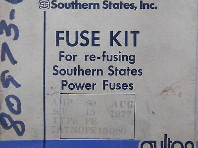 Southern States NSB PE15080 Fuse Accy PE 80A Standard Speed