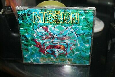 The Mission - Shades Of Green - Cd Single (Box Z4)