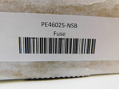 Southern States NSB PE46025 Fuse Accy PE 25A Standard Speed