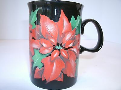 Dunoon Poinsettia, A Design by Caroline Bessey Mug, Made in Scotland