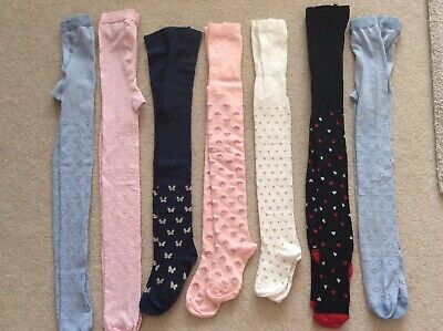 Girls Tights 7x, Size 6-7 Years, Brand New