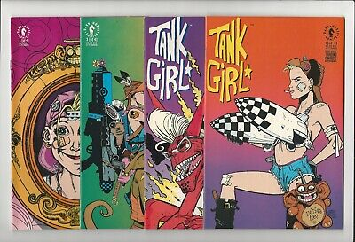 Tank Girl 1st Series 1 2 3 4 1-4 Dark Horse Complete Set Run Jamie Hewlett Movie