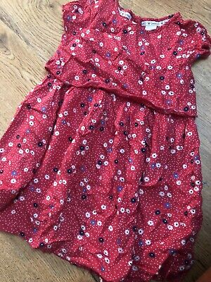 Jasper Conran Girls Summer Dress Age 3-4 Years Junior J