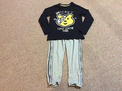 Boys Children In Need Pudsey Pyjamas - Age 9-10 Years