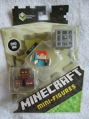 BLACKSMITH VILLAGER OOP NEW Minecraft Blind Box Figures End Stone Series 6