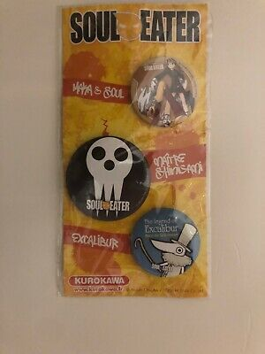 Soul Eater Pins