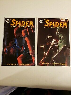 Spider Judgement Knight Comic Book #1 And #2