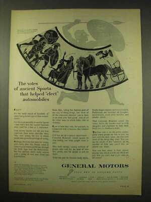 1949 General Motors Ad - The Votes of Ancient Sparta
