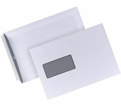 Post 04440346 Envelope Peel and Seal Envelopes with Window White
