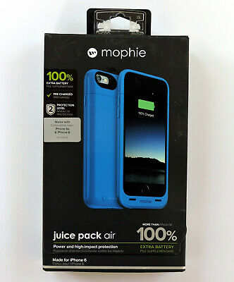 Mophie Juice Pack Air Battery Case For IPhone 6 & 6S Blue
