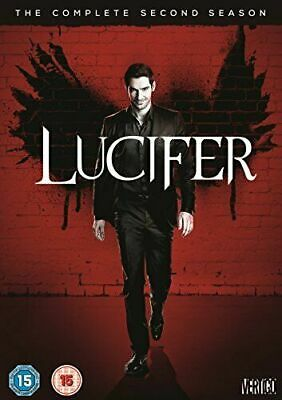 BRAND NEW Lucifer Complete 2nd Second Season 2 Two  3-DISC DVD SET FREE SHIPPING