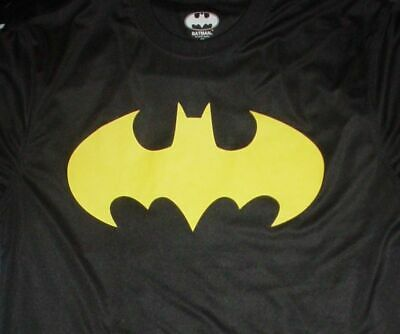 BATMAN Comic Book Movie Tv Bat Signal Super Hero Chest Costume Large L T SHIRT