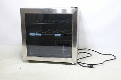 INSIGNIA WINE COOLER - 14 BOTTLE stainless steel - Preowned