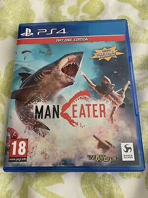 Maneater Game PS4 - (Shark Game)