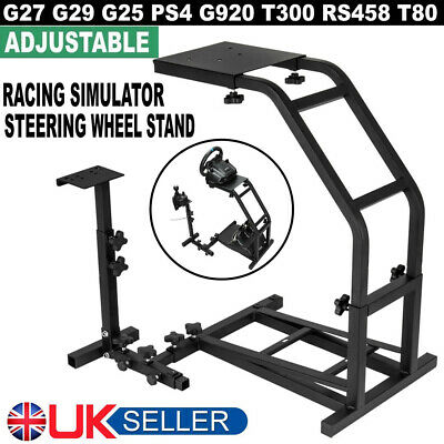Racing Simulator Steering Wheel Stand GT Model Gaming For G29 G920 T300RS T80 UK