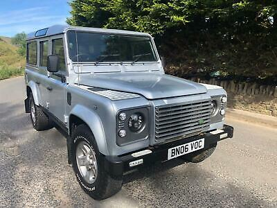 Land Rover Defender 110 County Station Wagon Td5 Xs 9 Seater