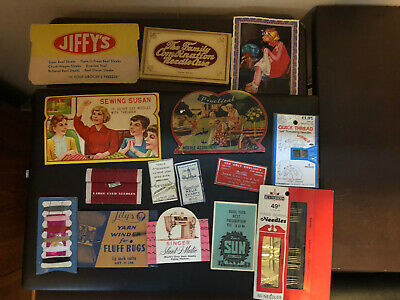 Assorted Needle Advertising Cards!