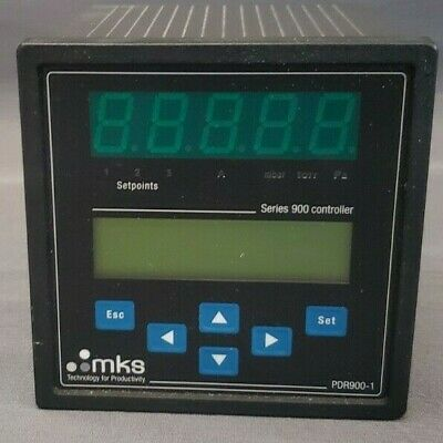 MKS PDR900-1 Vacuum Gauge Controller Used Great Condition