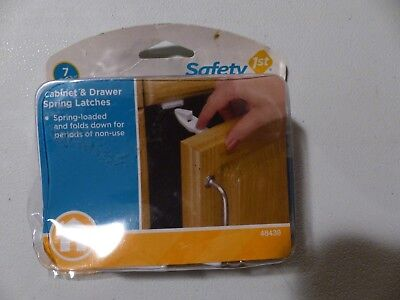 Safety 1st Cabinet and Drawer Spring Latches (7 Pack)