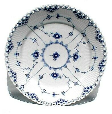 "Royal Copenhagen Fluted Full Lace Dinner Plate, 10 3/4"", Lot 2"