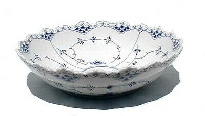 "Royal Copenhagen Fluted Full Lace Serving Bowl, 10 3/4"", Lot 2"
