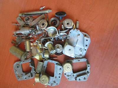 Lot of  Music Box Movements & Parts Repair As Is  (700A7)