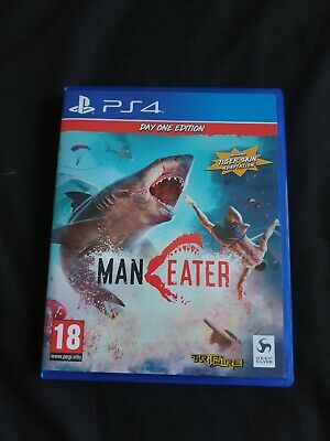 Maneater - Day One Edition (PS4) - DLC Included