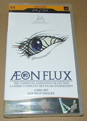 Aeon Flux: Complete Animated Collection (Sony PSP UMD Video) Brand New
