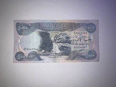 5,000 New Iraqi Dinar - Circulated Excellent-Great Condition  -Best Deal
