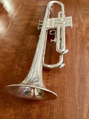 Temby Signature Silver Plated Bb Trumpet