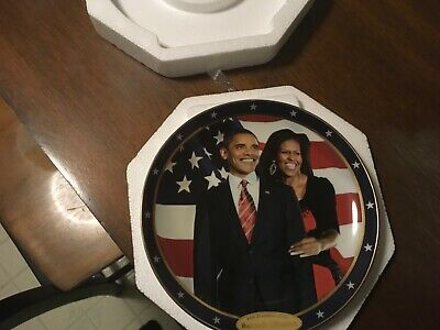 President Barack Obama Collectible Plate