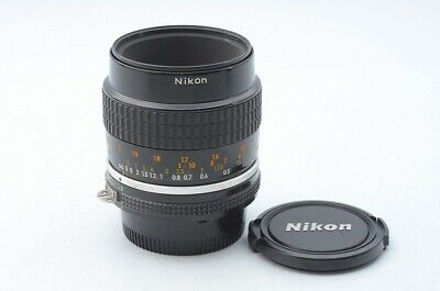 Excellent++ Nikon Ai-s Micro-NIKKOR 55mm F/2.8 From Japan!! 118526